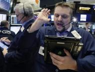 US stocks fall further on trade worries; Dow -3.0%