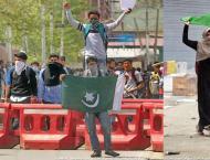 Aligarh Muslim University Students Union (AMUSU) students hold ra ..