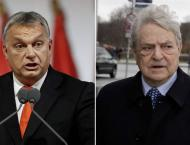 Hungarian people want to 'stop Soros', Orban says
