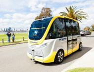 Australian university launches driverless shuttle bus