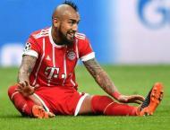 Bayern star Vidal set to miss Real semi-final after knee op