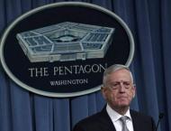 Pentagon denies Mattis wanted congress to approve Syria strike