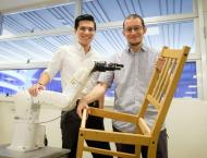 Put the toolbox away - new robot assembles IKEA chairs