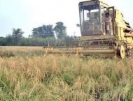 Agricultural machinery distributed among winners of crop producti ..