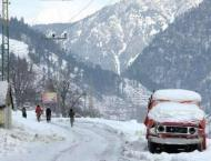 Galyat Development Authority (GDA) clears snow from Galyat roads