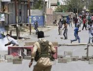 Indian troops open fire on protesters in South Kashmir