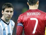 25,000 euros a minute Lionel Messi zooms past  Cristiano Ronaldo  ..