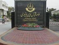 Allama Iqbal Open University (AIOU) entry-test for Ph.D on Wednes ..