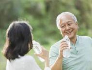 Drinking water may boost mental skills in exercising elderly