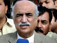 Syed Khursheed Ahmed Shah not yet consulted Pakistan Peoples Part ..