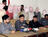 Robbers gang arrested in Faisalabad