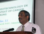 Chairman Pakistan Agriculture Research Council Dr Yousaf Zafar  P ..