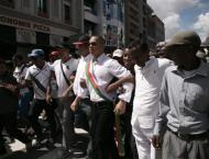Madagascar protesters seek president's resignation