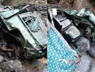 Eight persons died as jeep falls into deep ravine in AJK's villag ..
