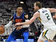 Thunder star Russell Westbrook fined after Gobert skirmish