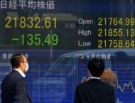 Tokyo stocks close lower weighed by rate hike fears 25 April 2018 ..