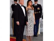 Donald Trump, Melania Trump host first state dinner with a straig ..
