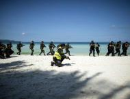 Philippines police hold riot drills as Boracay closure challenged ..