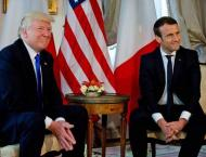 Macron suggests Syria should be involved in proposed negotiation  ..