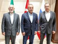 Foreign ministers of Turkey, Russia and Iran  to meet in Moscow