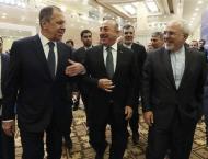 Russia, Turkey, Iran hold Syria talks