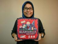 Malaysians poke fun at 1MDB scandal with 'Kleptopoly'