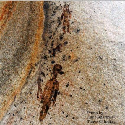 Ancient rock paintings discovered in Lhasa
