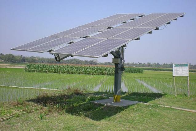 National Agriculture Research Center develops Portable Solar Irrigation System  to irrigate large scale of land holdings