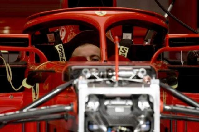 Vettel admits slight speed deficit to Mercedes