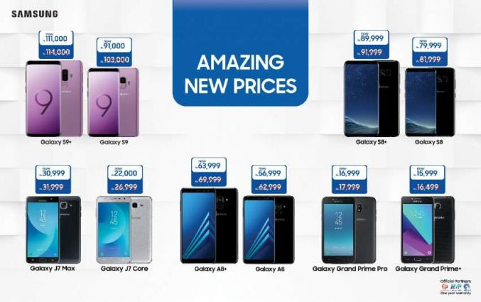 Samsung Offers Reduced Prices On Smartphones | UrduPoint