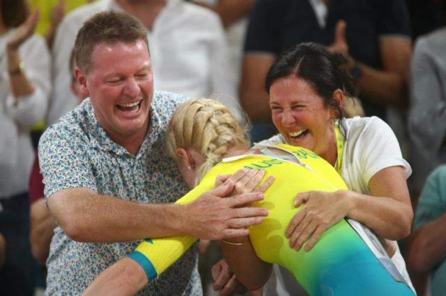 Aussie cyclist back from brink for emotional Games glory