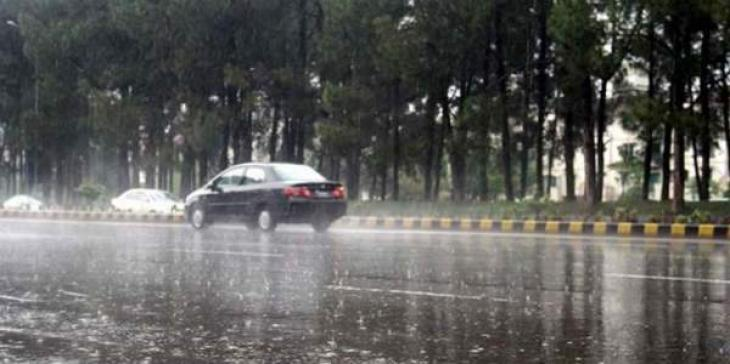 Scattered rainfall forecast in the country 9 April 2018