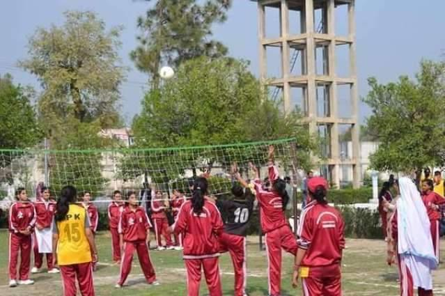 Haripur Wins Overall Abbottabad Region Inter District Female Games Trophy
