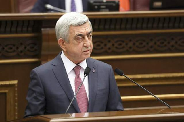 Armenian parliament elects ex-president as Prime Minister