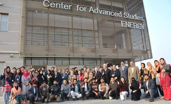 Pakistan-US advanced center for studies' first graduation ceremoney held at University of Sciences and Technology (NUST)