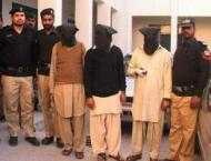 Four-member inter-district dacoits gang busted