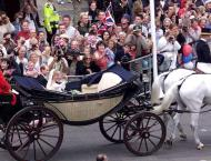 Britain's Prince Harry and Meghan Markle pick carriage for weddin ..