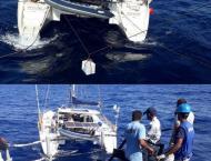 Pakistan Navy Ship Alamgir Provides Logistic Assistance To Sailin ..