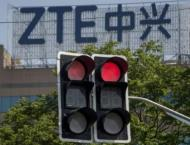China's ZTE says US sanctions have crippled operations