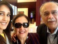 Mira Sethi shares her family chat and Najam Sethi is for sure a f ..