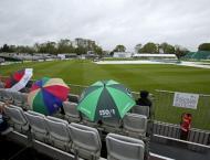 Irish hopes intact as rain derails Test debut
