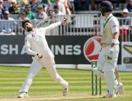 Pakistan's Amir takes 100th Test wicket on Ireland return