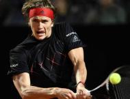 Defending champion Zverev battles into Rome quarter-finals