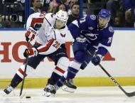 Lightning strikes twice: Tampa evens series with Capitals