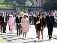 Winfrey queen of the celebs at Britain's royal wedding