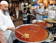 Friends, families like to visit Kartarpura for Sehri