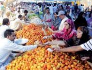 Distt admin to ensure good quality food items in Ramazan
