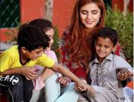 Momina Mustehsan for bright future of children, campaigns for Eid ..