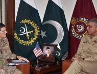 Commander US CENTCOM condoles with COAS on death of Sabika Sheikh ..