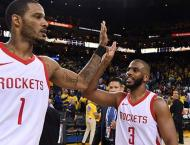 Rockets edge Warriors to level NBA playoff series